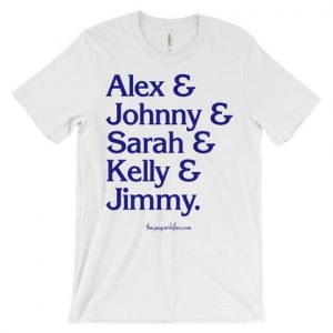 Alex & Johnny & Sarah & Kelly & Jimmy