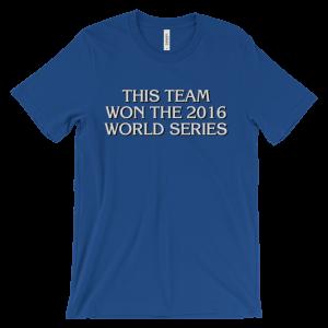 This Team Won The 2016 World Series