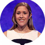 Chloë Zung on Jeopardy!
