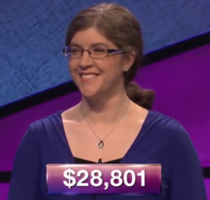 Jen Sosnowski, winner of the September 13, 2017 game of Jeopardy!