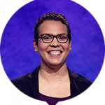 Erica Irving on Jeopardy!