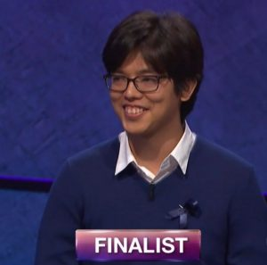 Alan Lin, today's Jeopardy! winner (for the November 15, 2017 episode.)