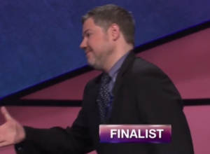 Austin Rogers, today's Jeopardy! winner (for the August 6, 2018 episode.)
