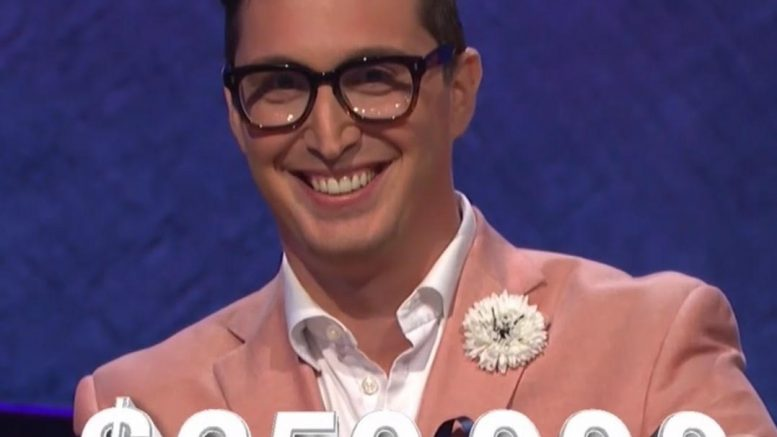 Buzzy Cohen, today's Jeopardy! winner (for the November 17, 2017 episode.)
