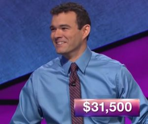 Eric Maher, today's Jeopardy! winner (for the November 20, 2017 episode.)
