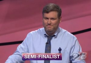 Jason Sterlacci, today's Jeopardy! winner (for the July 31, 2018 episode.)
