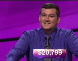 Matt Preston, today's Jeopardy! champion (for the November 28, 2017 episode.)