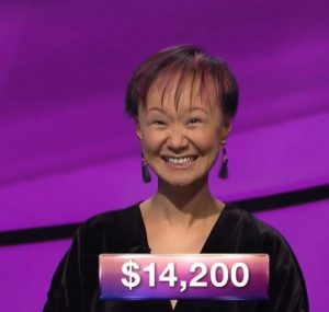 Ami Li, today's Jeopardy! winner (for the December 26, 2017 episode.)