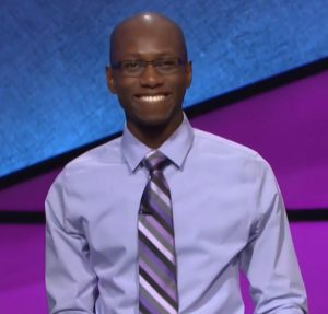 Henry Ayoola, today's Jeopardy! winner (for the December 29, 2017 episode.)
