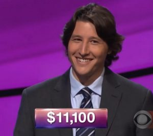 Johnny Leon, today's Jeopardy! winner (for the December 21, 2017 episode.)