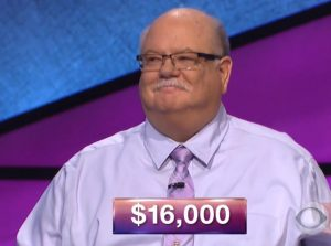 Kevin Foley, today's Jeopardy winner (for the December 27, 2017 episode.)