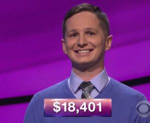 Kyle Becker, today's Jeopardy! champion (for the December 4, 2017 episode.)