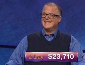 Alan Harrison, today's Jeopardy! winner (for the February 23, 2018 episode.)