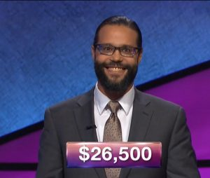 Jack Rice, today's Jeopardy! winner (for the March 6, 2018 episode.)