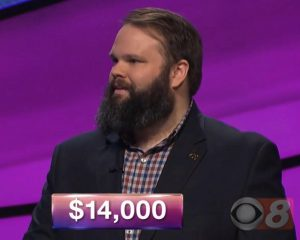 Johnny Trutor, today's Jeopardy! winner (for the March 26, 2018 episode.)