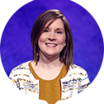 Rebecca Zoshak on Jeopardy!