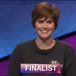 Hannah Sage, today's Jeopardy! winner (for the April 17, 2018 game.)
