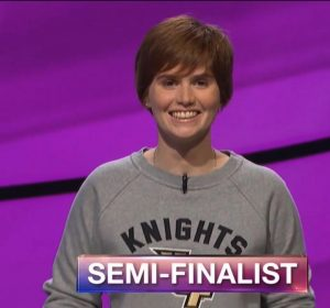 Hannah Sage, today's Jeopardy! winner (for the August 13, 2018 game).