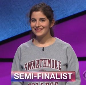 Rebecca Rosenthal, today's Jeopardy! winner (for the August 16, 2018 game.)