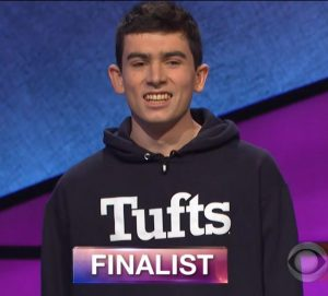 William Scott, today's Jeopardy! winner (for the April 16, 2018 episode.)