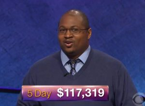 Josh Hill, today's Jeopardy! winner (for the May 22, 2018 episode.)