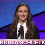 Andrea Schuelke on Jeopardy!