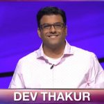 Dev Thakur on Jeopardy!