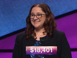 Michelle Rosen, today's Jeopardy! winner (for the June 6, 2018 game)