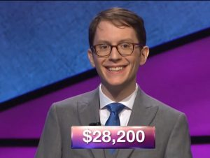 Mirza Gluhic, today's Jeopardy! winner (for the June 7, 2018 episode.)