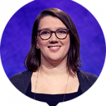 Katherine Pisarro-Grant on Jeopardy!
