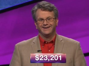 Rick Terpstra, today's Jeopardy! winner (for the July 26, 2018 episode.)