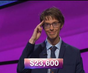 Ryan Fenster, today's Jeopardy! winner (for the July 17, 2018 episode.)