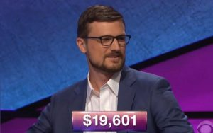 Andrew Knudsen, today's Jeopardy! winner (for the September 28, 2018 episode.)
