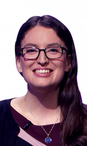 Katie Lombardo on Jeopardy!