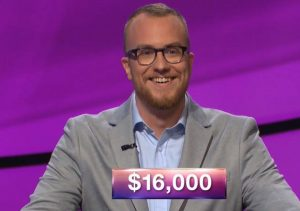 Doug Dodson, today's Jeopardy! winner (for the October 1, 2018 game.)