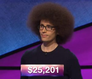 Erik Agard, today's Jeopardy! winner (for the October 19, 2018 game.)