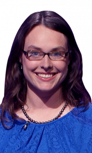 Kirsten Morry on Jeopardy!