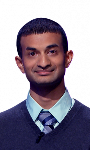 Dhruv Srinivasachar on Jeopardy!