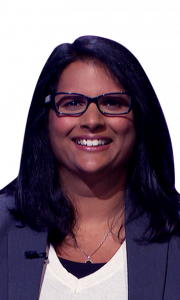 Swapna Sathe on Jeopardy!