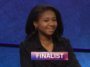 Maya Wright, today's Jeopardy! winner (for the November 15, 2018 game.)
