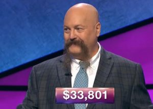 Dave Leffler, today's Jeopardy! winner (for the December 3, 2018 game.)
