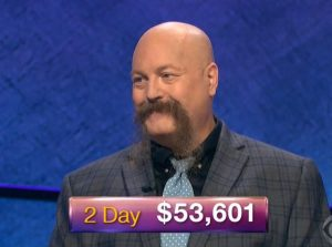 Dave Leffler, today's Jeopardy! winner (for the December 4, 2018 episode.)