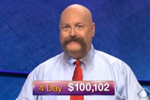 Dave Leffler, today's Jeopardy! winner (for the December 6, 2018 game.)