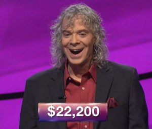Graham Fulton III, today's Jeopardy! winner (for the December 21, 2018 game.)