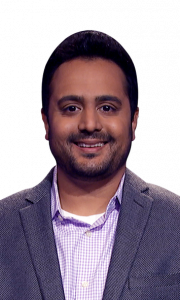 Samir Patel on Jeopardy!