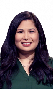 Tricia Eustaquio on Jeopardy!