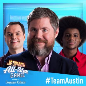 Team Austin in the 2019 Jeopardy! All-Star Games