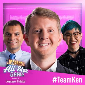 Team Ken at the 2019 Jeopardy! All Star Games