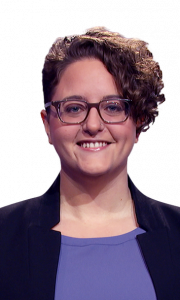 Rachel Fabi on Jeopardy!