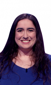 Amy Kroll on Jeopardy!